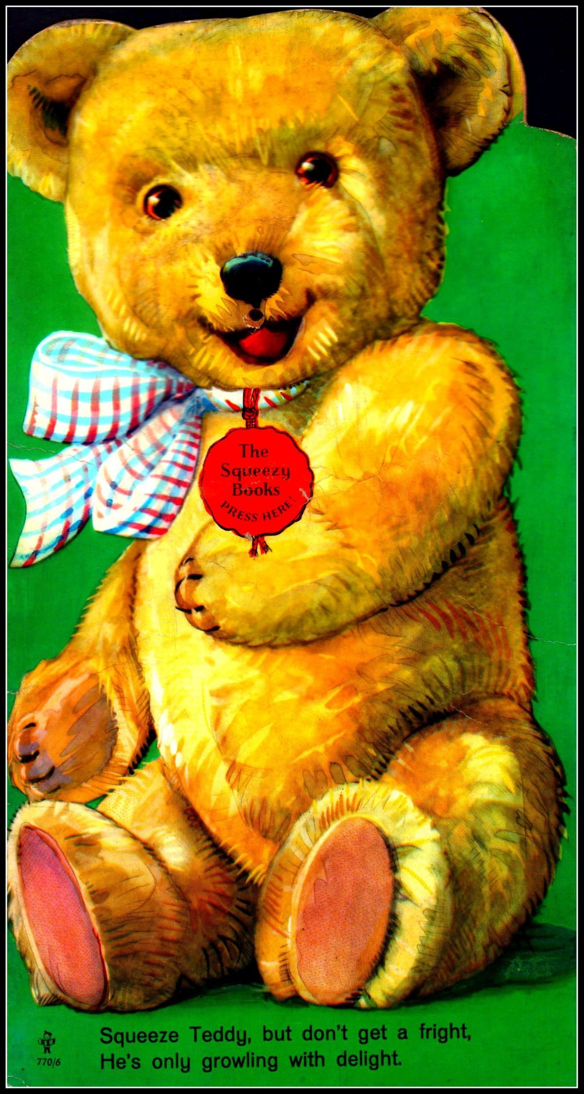 The Squeeze Books - Teddy - BB 770-6